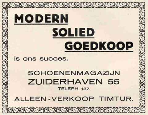 Advertentie Zuiderhaven 55, Harlingen