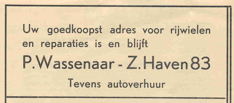 Advertentie Zuiderhaven 83, Harlingen