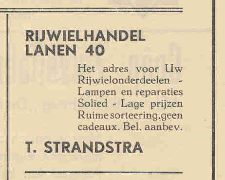 Advertentie Lanen 40, Harlingen