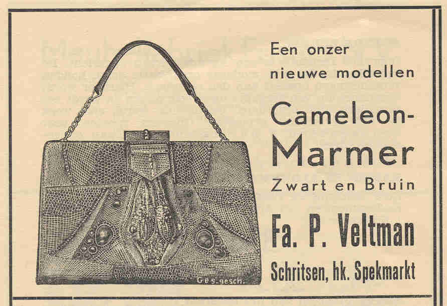 Advertentie Schritsen 67, Harlingen