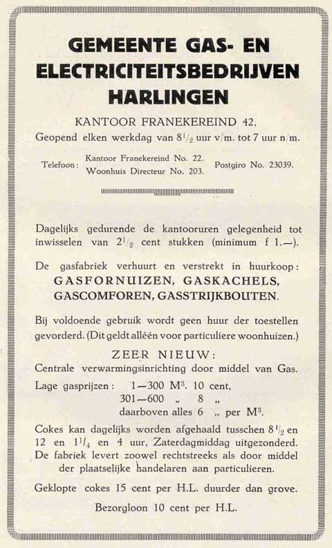 Advertentie Franekereind 42, Harlingen