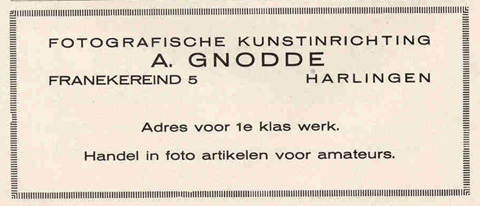 Advertentie Franekereind 5, Harlingen