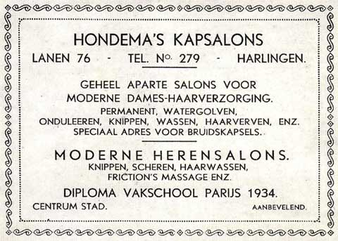 Advertentie Lanen 76, Harlingen