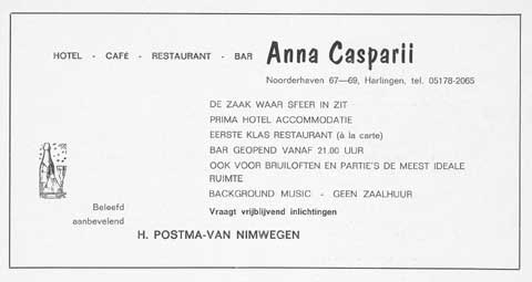 Advertentie Noorderhaven 69, Harlingen