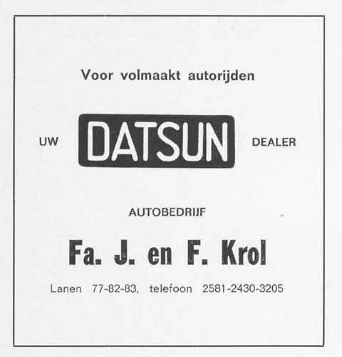 Advertentie Lanen 82, Harlingen