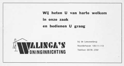 Advertentie Noorderhaven 109, Harlingen