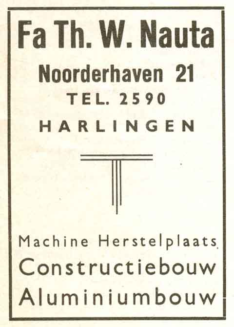 Advertentie Noorderhaven 21, Harlingen