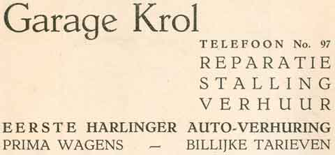 Advertentie Lanen 72, Harlingen