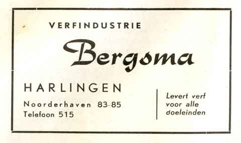 Advertentie Noorderhaven 83, Harlingen