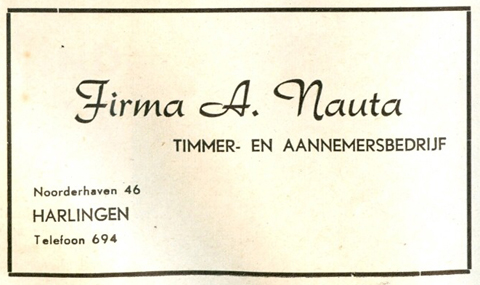 Advertentie Noorderhaven 46, Harlingen