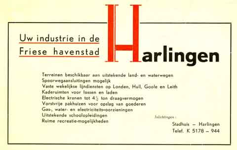 Advertentie Noorderhaven 86, Harlingen