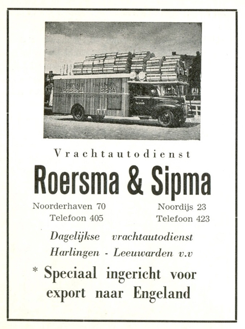 Advertentie Noorderhaven 70, Harlingen