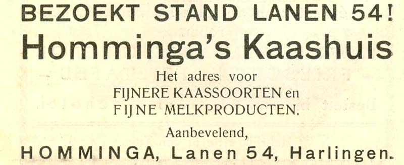 Advertentie Lanen 54, Harlingen