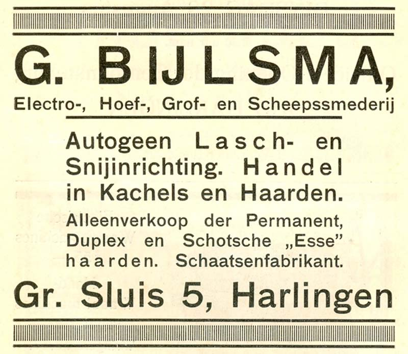 Advertentie Rommelhaven 5, Harlingen