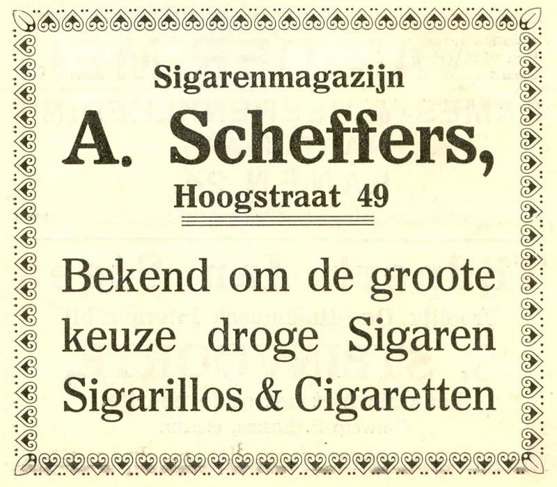 Advertentie Hoogstraat 49, Harlingen