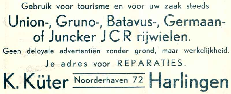 Advertentie Noorderhaven 72, Harlingen