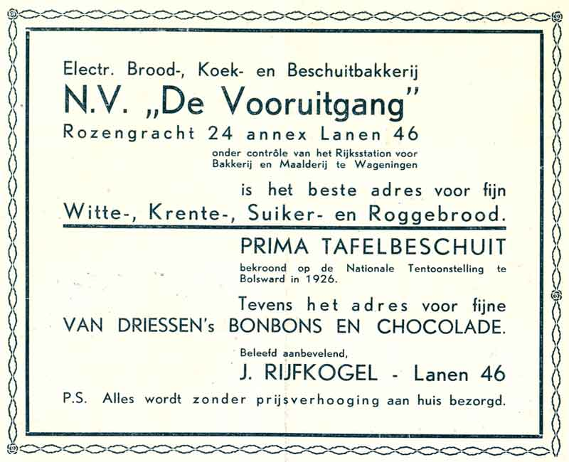 Advertentie Lanen 46, Harlingen