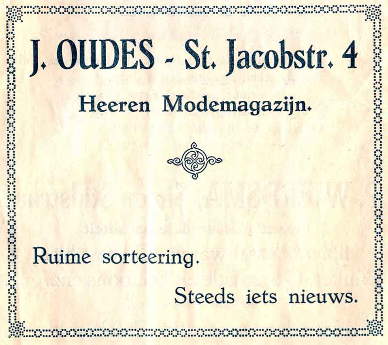 Advertentie Sint Jacobstraat 4, Harlingen