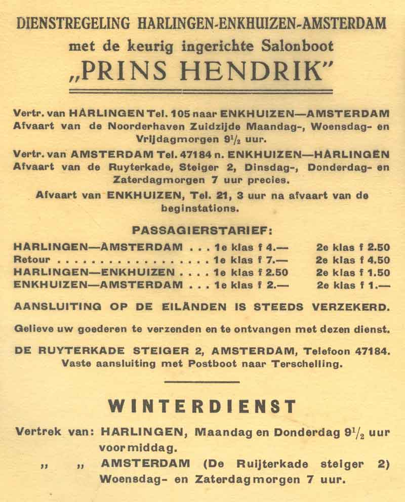 Advertentie Noorderhaven 38, Harlingen