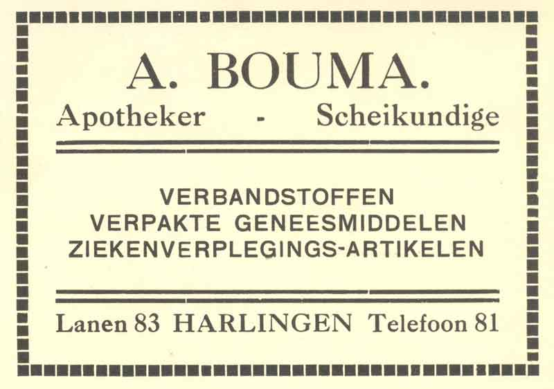 Advertentie Lanen 85, Harlingen