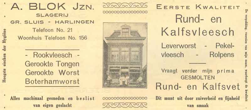 Advertentie Rommelhaven 18, Harlingen