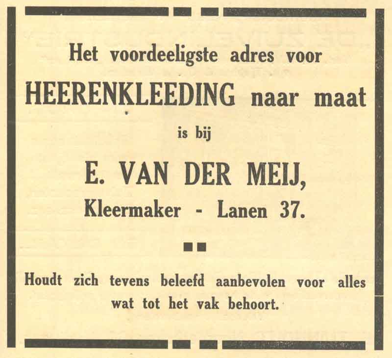 Advertentie Lanen 37, Harlingen