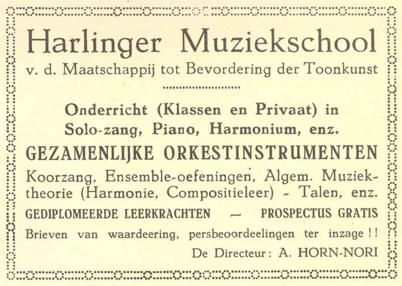 Advertentie Zuiderhaven 39, Harlingen