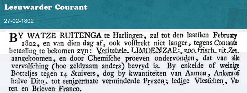 Advertentie Noorderhaven 101, Harlingen