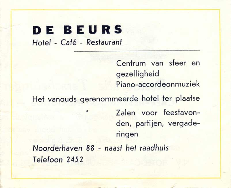 Advertentie Noorderhaven 88, Harlingen